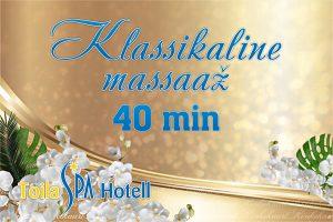 Klassikaline massaaž